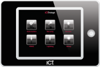 ICT Protege Touchscreen Keypad